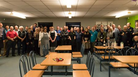 Clive Burroughs was surprised with a party to mark 40 years of service Picture: TUNBRIDGE PHOTOGRAPH