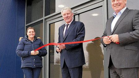Two new warehouse units, with a development cost of £13m, have been opened at Suffolk Park, Bury St