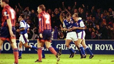 Town beat Everton on this day in 1992