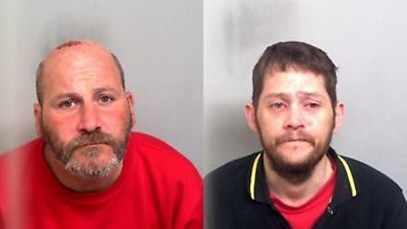 Darren Miller and Mark Hartley, who have been convicted of murdering Martin Dines Picture: ESSEX POL