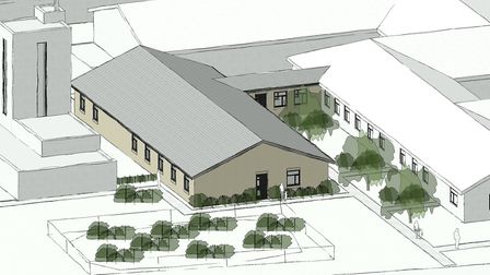 Plans to extend Newmarket Community Hospital have been submitted Picture: NHS PROPERTY SERVICES