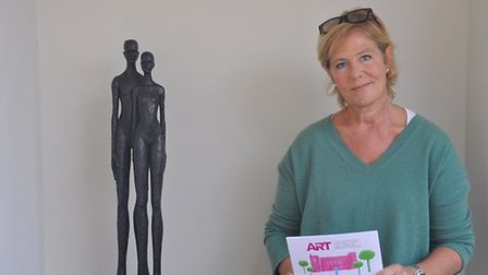 Belinda Gray, founder of Art for Cure Picture: ARCHANT