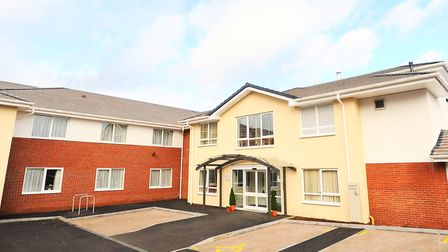 Glastonbury Court care home is opening its doors to visitors for the Christmas fayre Picture: GREGG