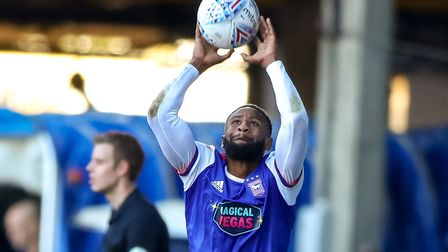 Janoi Donacien is on loan at Town from Accrington Stanley with view to a �750k move. Picture: STEVE
