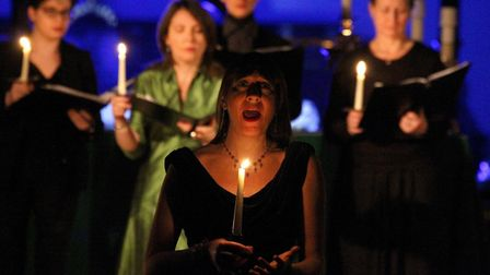 Discover the secret life of carols with The Telling at St Andrew�s Church, Marks Tey Photo: The Tell