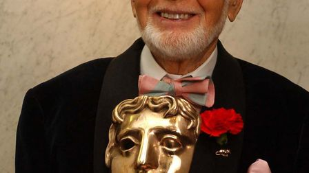 Sir John Mills CBE after he received the British academy Fellowship at BAFTA Piccadilly in London. A