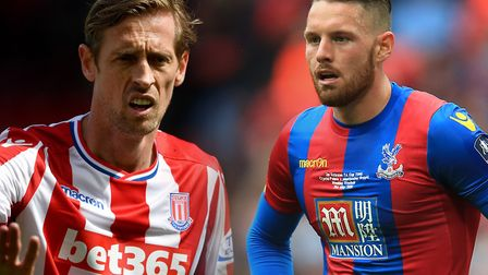Could Peter Crouch or Connor Wickham be loan targets for Ipswich Town in January. Picture: PA