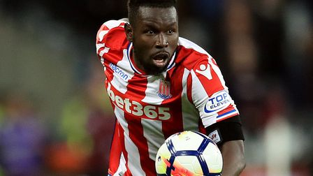 Mame Biram Diouf was a favourite of Paul Lambert's at Stoke. Picture: PA