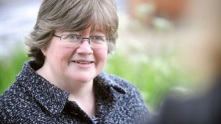 Therese Coffey has spoken out about the ordeal Picture: GREGG BROWN