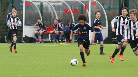 Club Together grants funds to Suffolk youth football teams Picture: SUFFOLK FA