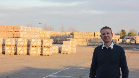 Julian Wood, managing director of Global Stone, Colchester Picture: GLOBAL STONE