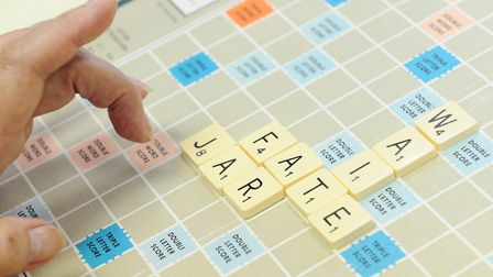 It's all right to play Scrabble... as long as you don't use B***** or other banned words. Picture: L