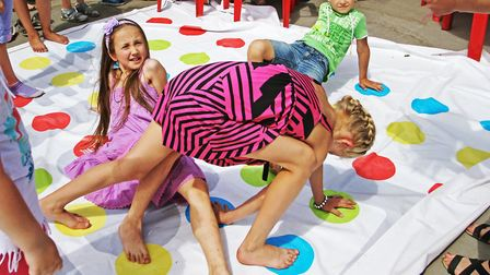 Why not play Twister - no Brexit connotations. Picture: Getty Images