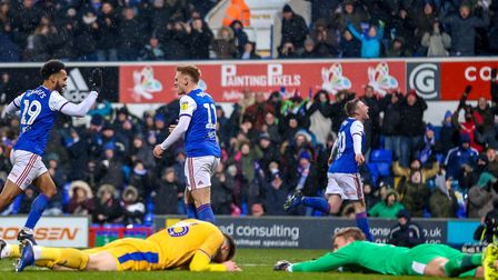 Freddie Sears wheels away after scoring the only goal of the match in Town's first home win since Ap