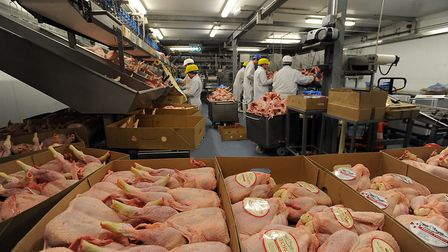 Inside Diaper Poultry, which received a major fault relating to animal welfare Picture: PHIL MORLEY