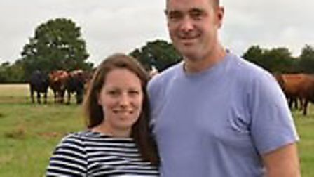 Phil and Anna Blumfield of Deersbrook Farm Shop and Butchery Picture: DEERSBROOK FARM SHOP