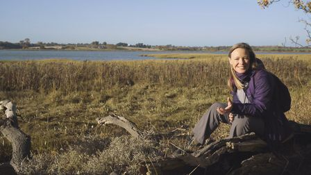 Miranda Krestovnikoff will be following part of the River Deben on a new show on Monday night Pictur