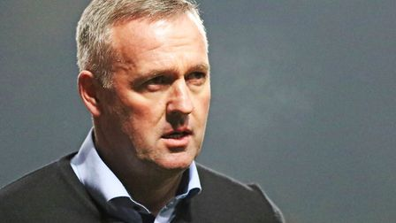Paul Lambert signed a contract until 2020 when becoming Ipswich Town manager back in October. Photo: