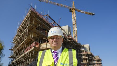 Bob Weston, chairman and chief executive of Essex-based Weston Homes The company has moved an impor