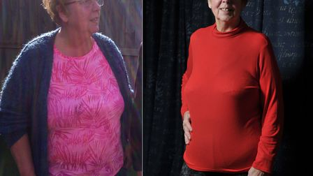 Lorraine had a health scare which led her to make the decision that she needed to lose weight Pictu