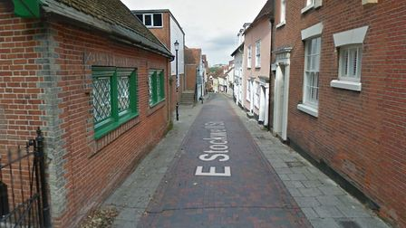 East Stockwell Street in Colchester where the attack occurred Picture: GOOGLE MAPS