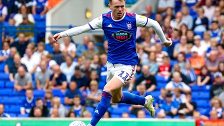 Jon Nolan has made 10 league starts for Ipswich Town since joining from League One club Shrewsbury.