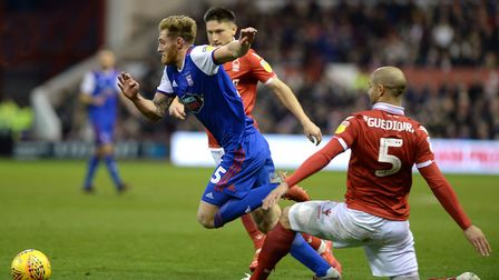 Teddy Bishop started for the Blues at Nottingham Forest. Picture Pagepix