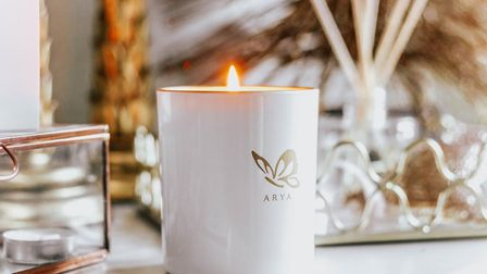 Arya Candles. Picture: caroline horne suffolk photography