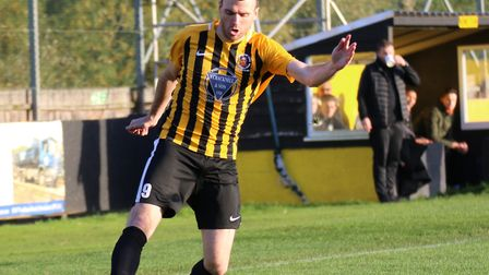 Stowmarket's Ollie Canfer, could return this weekend after injury lay-off