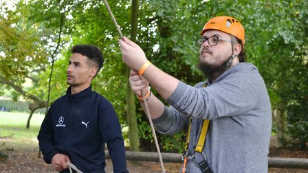 A residential trip held as part of the Inspire Suffolk Prince's Trust team programme Picture: INSP