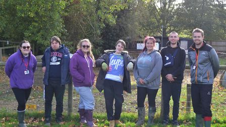 The Prince's Trust team programme Stowmarket community project at the Museum of East Anglian Life