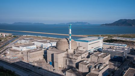 Tainshan nuclear power plant in China. Picture: EDF/ zwx@TNPJVC