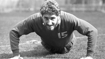 Terry Butcher was a mainstay in the Town defence over eight season