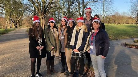 Birketts, Ipswich staff Walking Home for Christmas for charity