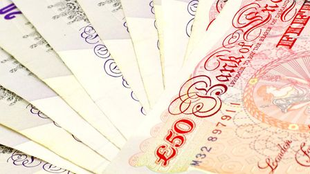 The notes have been found at various locations across Suffolk, with some being caught before payment