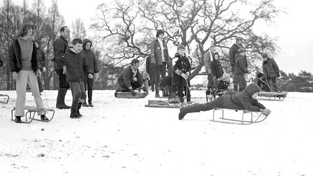 1970 was the last official White Christmas in East Anglia. Picture: ARCHANT ARCHIVE