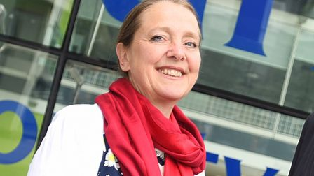 Sarah Adams attacked the decision to cut CABx funding. Picture: GREGG BROWN
