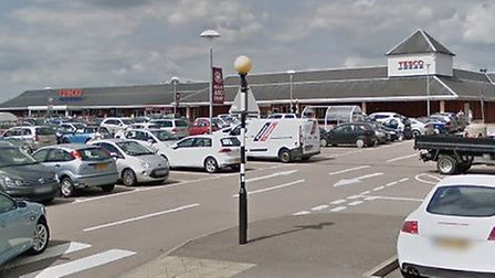 The incident happened at Tesco in Sudbury Picture: GOOGLE MAPS