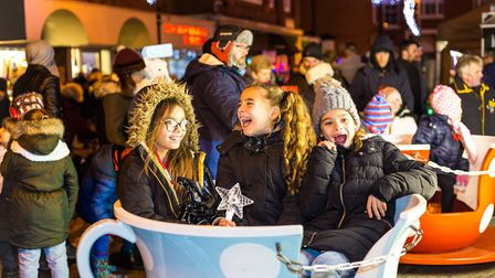 The fun of Christmas starts at the Haverhill Family Christmas Weekend Photo: Andy Mayes