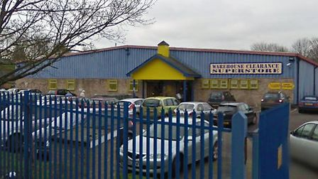 The former Warehouse Clearance Superstore has been bought by St Edmundsbury Borough Council for £1.7