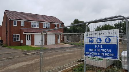 Some of the homes are said to have been built in the wrong design or location RACHEL EDGE
