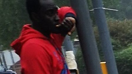 This picture of Samuel Apenteng was used in an appeal by Essex Police Picture: ESSEX POLICE