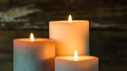 The fire service have warned the public to be careful with candles after a house fire in Colchester