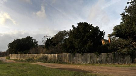 WEIRD SUFFOLK: Lodge Road, Walberswick Picture: SARAH LUCY BROWN