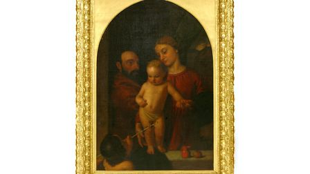 The Holy Family with John the Baptist, by Ford Madox Brown is being sold by Sworders at auction on D