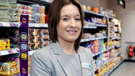 Kim Farrow, store manager of the new Co-op in Thurston Picture: JASON BYE