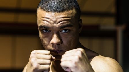 Ipswich heavyweight prospect Fabio Wardley has signed with Dillian Whyte. Picture: STEVE WALLER