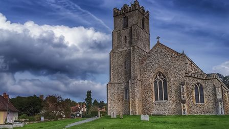 """Coddenham is one of the """"fossilised"""" villages according to the CLA. Picture: BARRY PULLEN"""