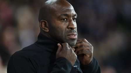 West Bromwich Albion manager Darren Moore. Photo: PA