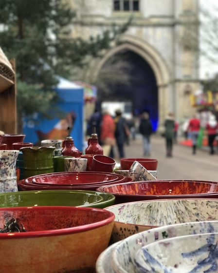 You may find the perfect Christmas gift as you wander around the Abbey Gardens at this years Christm